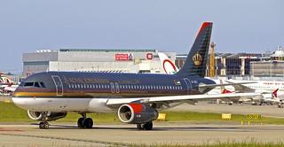 GVA/LSGG: RoyalJordanian Airbus A320-234 JY-AYS
