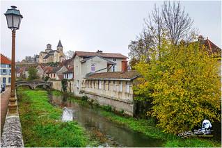 Automne à Châtillon-sur-Seine (église St Vorles)
