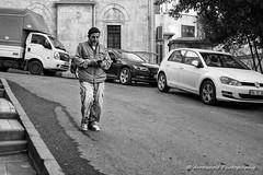 Street 461 (`ARroWCoLT) Tags: streetphotography sokak people blackwhite bw art insan human arrowcolt monochrome bnwdemand bnwpeople bnw bnwstreet ishootpeople blackandwhite outdoor portrait streetportrait nx300 30mm istanbul turkey türkiye car road sidewalk tree perspective