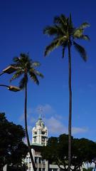 Aloha Tower (Montauke) Tags: hawaii honolulu oahu sonya7s a7s canon50mmf14ltm alohatower