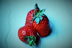 Strawberry (NouraJesri) Tags: strawberry fruit fruits red colourful