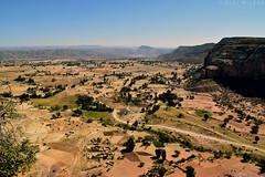 landscape in Gheralta, (Neal J.Wilson) Tags: africa travel african ethiopia ethiopian nikon d5600 mountains fields landscape scenic valley tigray gheralta