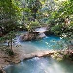 Erawan waterfall in Kanchanaburi, Thailand thumbnail