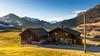 Peaceful Switzerland (SLpixeLS) Tags: switzerland suisse chateaudoex mountain montagne alps alpes snow neige landscape paysage farm ferme light lumière sunset coucherdesoleil country campagne chalet