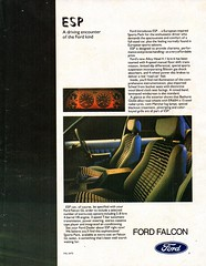1980 XD Ford Falcon GL ESP European Sports Package 4.1 Litre 6 Or 5.8 Litre V8 Sedan Page 2 Aussie Original Magazine Advertisement (Darren Marlow) Tags: 1 8 9 19 80 1980 x d xd f ford falcon g l gl e s p esp european sports package 4 5 41 58 v v8 six automobile car c classic collectible collectors cool aussie australian australia 80s