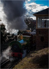 Leaving the Station (Stephen Sinclair Photography) Tags: beamish steam train station living museum