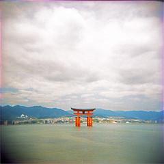 miyajima (thomasw.) Tags: miyajima japan nippon asia asien wanderlust travel travelpics analog cross crossed holga mf fuji 120 mamiya