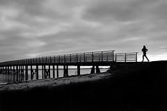 To the other side (Birdhouse camper) Tags: copenhagen denmark bridge silhouette fujifilm fuji xt2 fujixt2 street blackandwhite blackwhite
