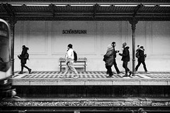 Schönbrunn U4 (petrwag) Tags: sonya6500 sel1670z bw blackandwhite blancoynegro blackwhite černobílé clickcamera carlzeiss noiretblanc noirblanc wien vienna