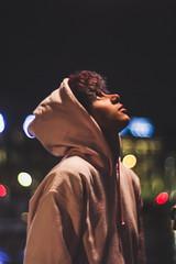 Iris (April Cocel) Tags: portrait woman androgyne paris night light parisbynight numerique digital color petzval 85mm