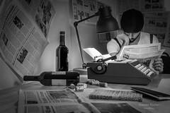 The typewriter 06-XX  XX ways to communicate (Giovanni Riccioni) Tags: 2018 5d autoritratto autoscatto canon canon430exii canonef50mmf18stm canoneos5d eos flash fullframe giornale giornali giovanni giovanniriccioniphotography hektar ikea italia italy lamp macchinadascrivere man novara olivetti olivettistudio46 phottix phottixplato piedmont piemonte plato portrait ritratto selfportrait selftimer speedlight strobe typewriter uomo carta lampada newspapers vino wine studio46