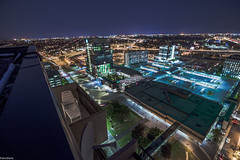 Quartier Metro Longueuil - 2017 - Rooftopping (felix_shots) Tags: longexposure longueuil light lightroom rooftop roof rooftopper rooftopping ontheroof metro montral mt qc quebec night nightshot nightphotography