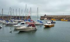 Saundersfoot harbour (Ian Gedge) Tags: uk britain saundersfoot wales cymru harbour boats sea coast pembrokeshire