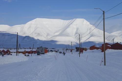 Longyearbyen og Hiortfjellet