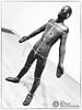 AG1 (The Burly Photographer) Tags: anthony gormley tate modern statue human blackandwhite