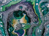 Mardi Gras Celebration (1117) (jim fleckenstein) Tags: mardigras abstract painting acrylic acrylicpour canvas