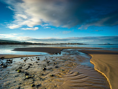 Sunrise on Culzean Beach (stephen cosh) Tags: culzean hasselbladx1d hasselbladxcd30mm landscape scotand stephencosh