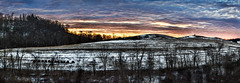 IMG_7003-05Ptzl1TBbLGER (ultravivid imaging) Tags: ultravividimaging ultra vivid imaging ultravivid colorful canon canon5dm2 clouds sunsetclouds winter snow twilight evening fields farm trees pennsylvania pa sky scenic landscape panoramic painterly rural sunset