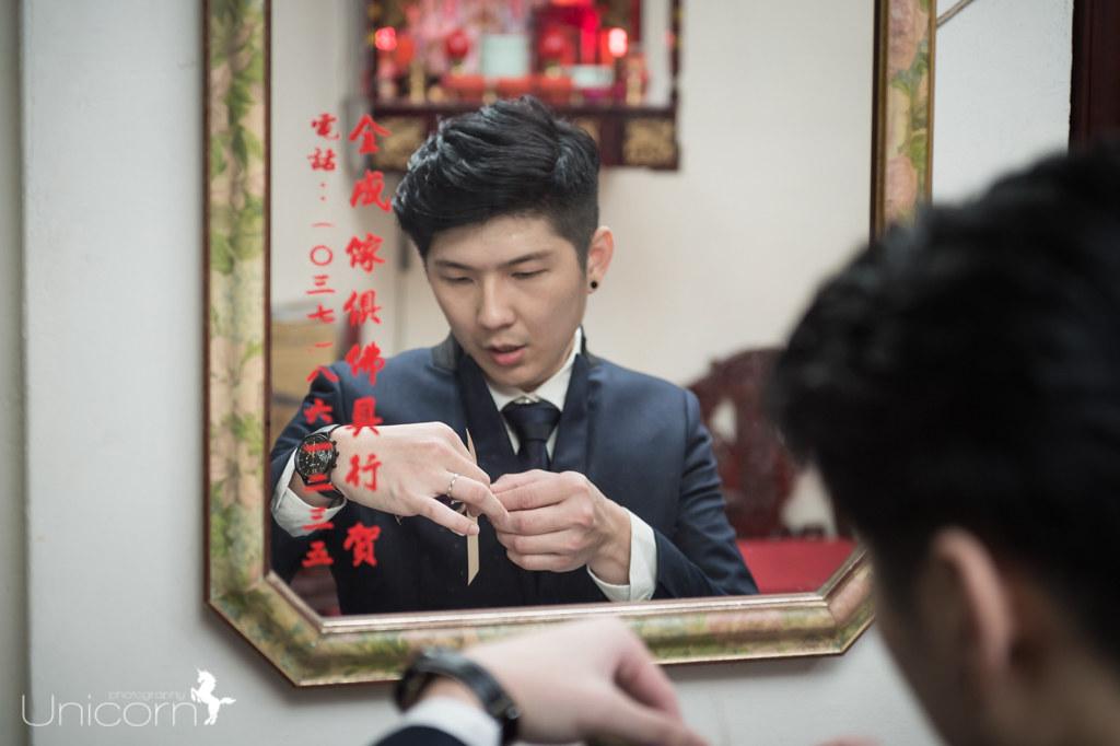《婚攝一条》文壹 & 慧瑩 / 成都雅宴時尚會館
