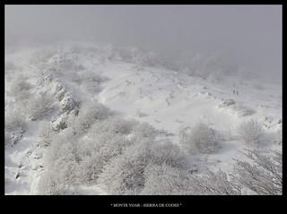 Camino de la cima Monte Yoar