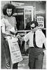 People's striker leaflets the public: 1970 (washington_area_spark) Tags: retail store employees united food commercial workers union local 400 people's drug cvs 1970 washington dc strike picket boycott first contract forced overtime pharmacists pharmacy