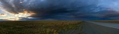 Atardecer en Tierra del Fuego (Mono Andes) Tags: chile patagonia panorama tierradelfuego regióndemagallanes atardecer camino ontheroad cerrosombrero