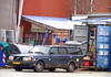 Very rusty Volvo 240 OK91412 still on the roads of Copenhagen but maybe not much longer (sms88aec) Tags: very rusty volvo 240 ok91412 still roads copenhagen but maybe much longer