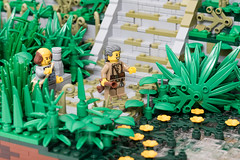 Temple in the Jungles of Celestia (Jonas Wide ('Gideon')) Tags: lego brethrenofthebrickseas jungle ruins