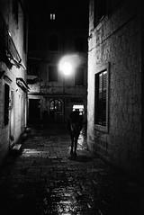 Nightlight (Koprek) Tags: leicam2summaron35mm2 kodaktrix 1600 dubrovnik croatia film streetphotography nightlight rain cold wind december 2017