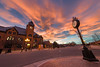 Sunset - Pueblo Union Depot (Christopher J May) Tags: pueblo colorado co pueblouniondepot sunset sky clouds goldenhour nikond600 sigma1224mmf4556ii