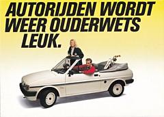 Ford Fiesta Flirt brochure 1984 (sjoerd.wijsman) Tags: carbrochure brochure autobrochure prospekt folleto car cars auto voiture fahrzeug brochura opuscolo broschyr vehicle ford fiesta flirt fordfiestaflirt fordfiesta fly fordfiestafly 1984