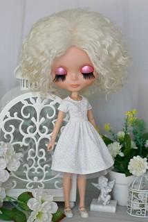 White dress for Blythe