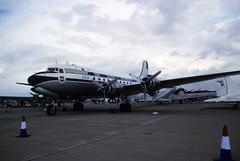 Douglas DC-4 (Pentakrom) Tags: riat fairford 2003 douglas dc4 zsaua dda dutch dakota association