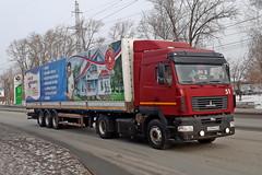 МАЗ-5440  О 359 МЕ 45 (RUS) (zauralec) Tags: город курган улица автомобиль грузовик kurgan mashinostroiteleyavenue маз5440 о 359 ме 45 rus маз