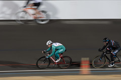 Shaun Wallace (Joe Richland) Tags: activitiy balboapark bicycle california cycling lightweather night places sandiego sports velodrome men