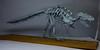 Origami T. Rex Skeleton (Tankoda) Tags: origami paper art dinosaur dinosaurs tyrannosaurus t rex trex tyrannosaur mesozoic fossil skeleton wood mount osteology paleontology issei yoshino travis nolan design hours