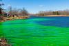 lake katherine. march 2016 (timp37) Tags: lake katherine march 2016 palos illinois st patricks day green dye