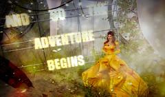 Belle means Beauty (Arinarose) Tags: wholewheat beauty beast truth maitreya infinity sl secondlife