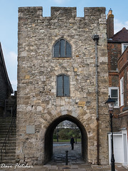 A Gateway In Southamptons City Wall (Meon Valley Photos.) Tags: a gateway in southamptons city wall ngc