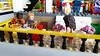 Art Hostel   Fin & Starlord (dhsign) Tags: lego art hostel alfred gandalf superman fin stormtrooper spiderman aladin dwarf legolas garmadon dick starlord beetles chewbacca