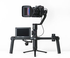 """Proud to be Anamorphic"" (cablefreak) Tags: anamorphic gh5s lumix tvlogic zhiyun crane 2 gimbal video setup rig videorig handheld g9 la7200 dvx100"