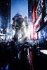 Calm before the storm in New York Time Square (Benjamin Cheh) Tags: pacificrim2 mecha lego afol newyork timesquarenewyork