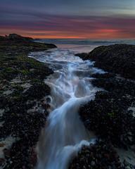 1000 Steps Beach Sea Creek (RyanLunaPhotography) Tags: california canon lagunabeach ocean orangecounty socal southerncalifornia beach landscape rocks seascape sunset