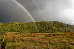 _DS01256_DxO (schambach.robert) Tags: nature landscape rainbow scenics outdoors mountain grass sky iceland cloudsky hill fog greencolor nopeople weather environment water beautyinnature rain storm everypixel