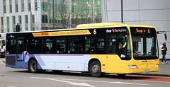 First Berkshire 64030 LK07CCA on Slough area branded services. (Gobbiner) Tags: firstberkshire lk07cca slough citaro 64030 mercedesbenz