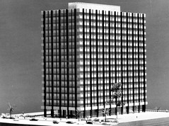 Model of 1st Government Precinct Building (Queensland State Archives) Tags: architecture model queensland archives qld history records 3d threedimensional government precinct building skyscraper brisbane