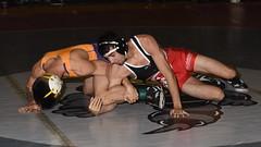 Brandon Vu vs Kyle Jimenez 3933 (Chris Hunkeler) Tags: brandonvu sfstate kylejimenez unattached bout156 125 roadrunneropen amateur college wrestling