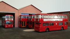 B20 heaven (Titanlad) Tags: efe modelbus dms b20 parkroyal leyland fleetline londontransport
