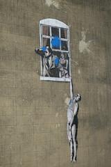 Banksy (koukat) Tags: bristol canal water waterside docks banksy graffiti street art
