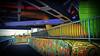 14.02.2018 fat colorful bridge worms (FotoTrenz NRW) Tags: bridge colorful tubes graffiti industrial urban urbex rheinpark duisburg nrw